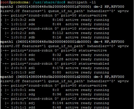 Горячие добавление диска с eva на linux и раширения его