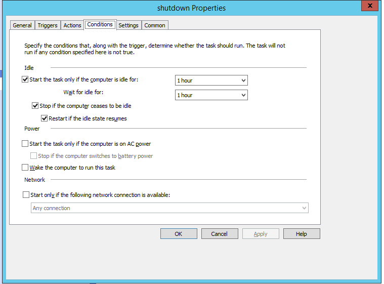 Как сделать групповую политику GPO для автоматического выключения windows 10 при простои.