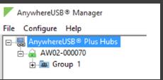 Как настроить Digi AnywhereUSB 8 Plus для 1с 8.
